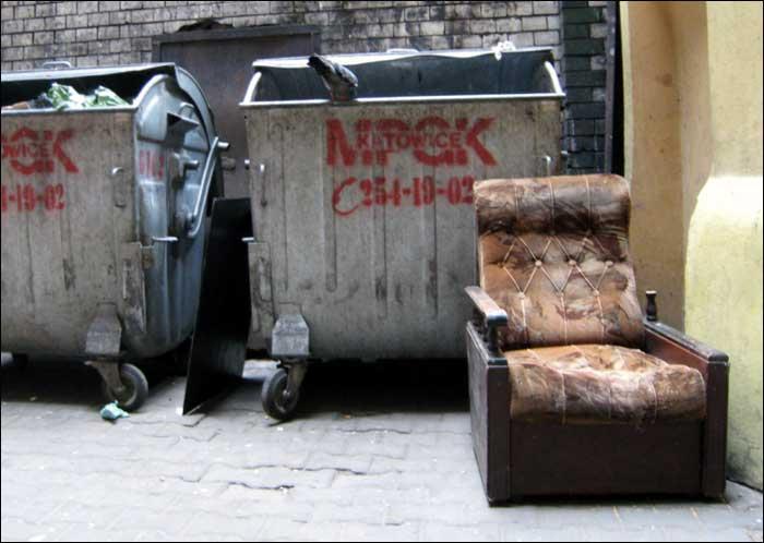 foto: Katowice, Mariacka, podwórko