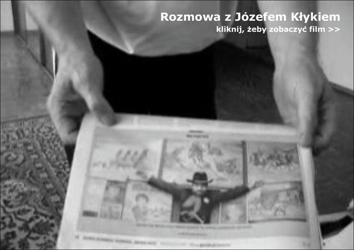 film: Rozmowa z Józefem Klykiem