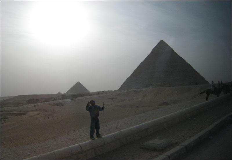egipt, giza, kair, piramidy