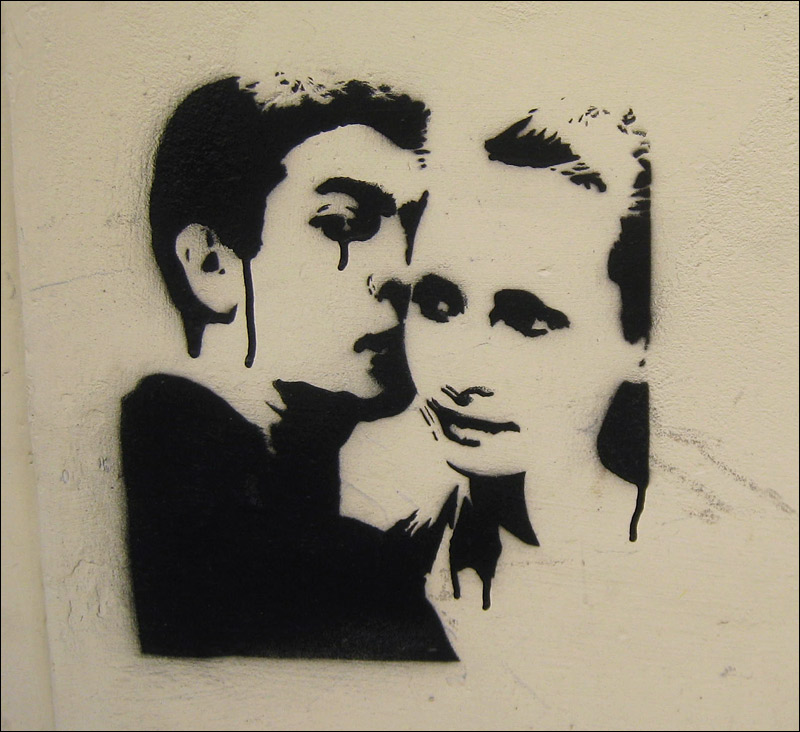 graffiti, na murze