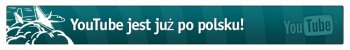 screen: youtube.com: youtube jest już po polsku