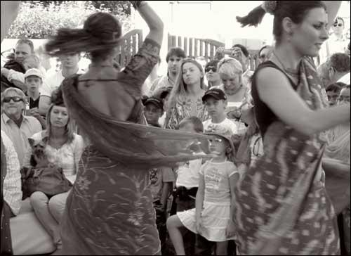 foto: Buksza Polo, taniec hinduski, tancerki