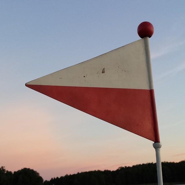 mazury, bandera, biało-czerwona