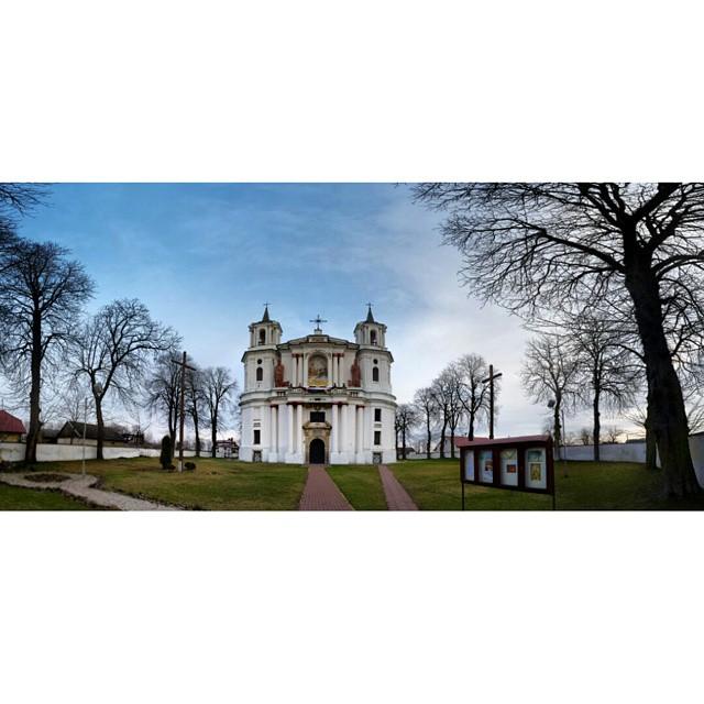 kościół w tarłowie, panorama