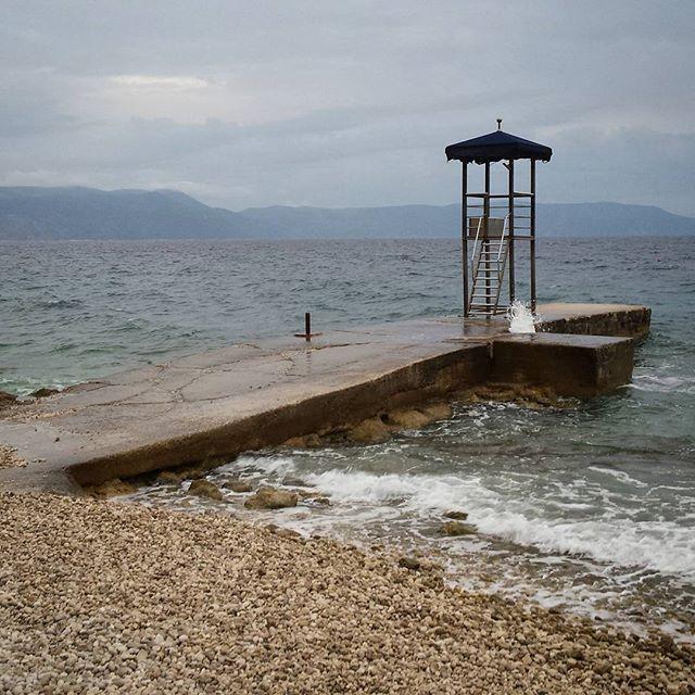 Chorwacja, Rabac, plaża