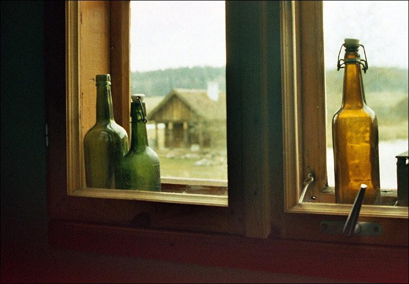 Kadzidłowo, widok z okna