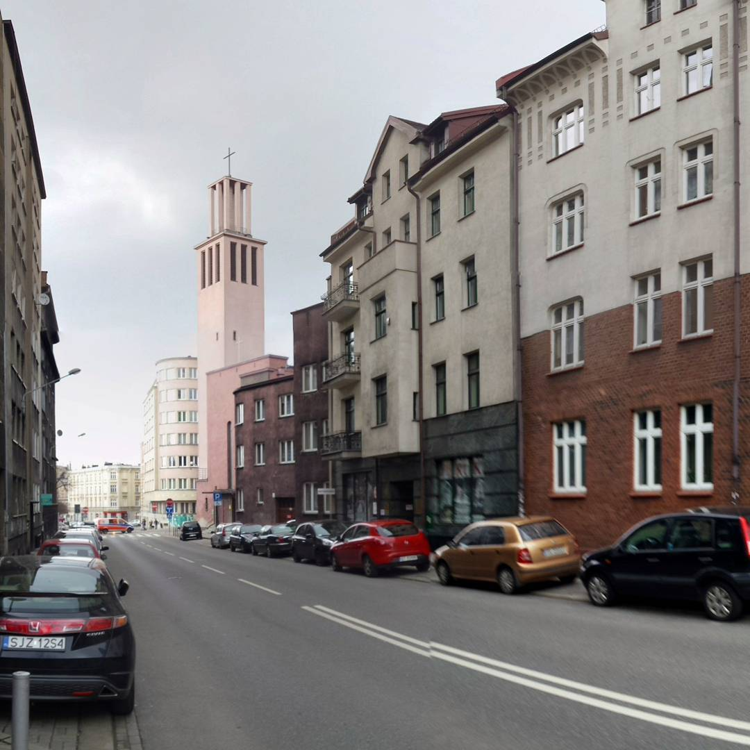 #miasto #katowice #kato #city #polska #poland #church #kościół #street #skłodowskiej