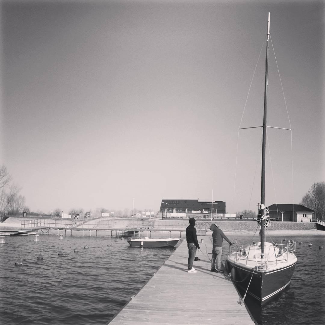 #unboxing #chrzest #wodowanie #duszka #otwarciesezonu #jacht #tarnobrzeg #sailing #żagle