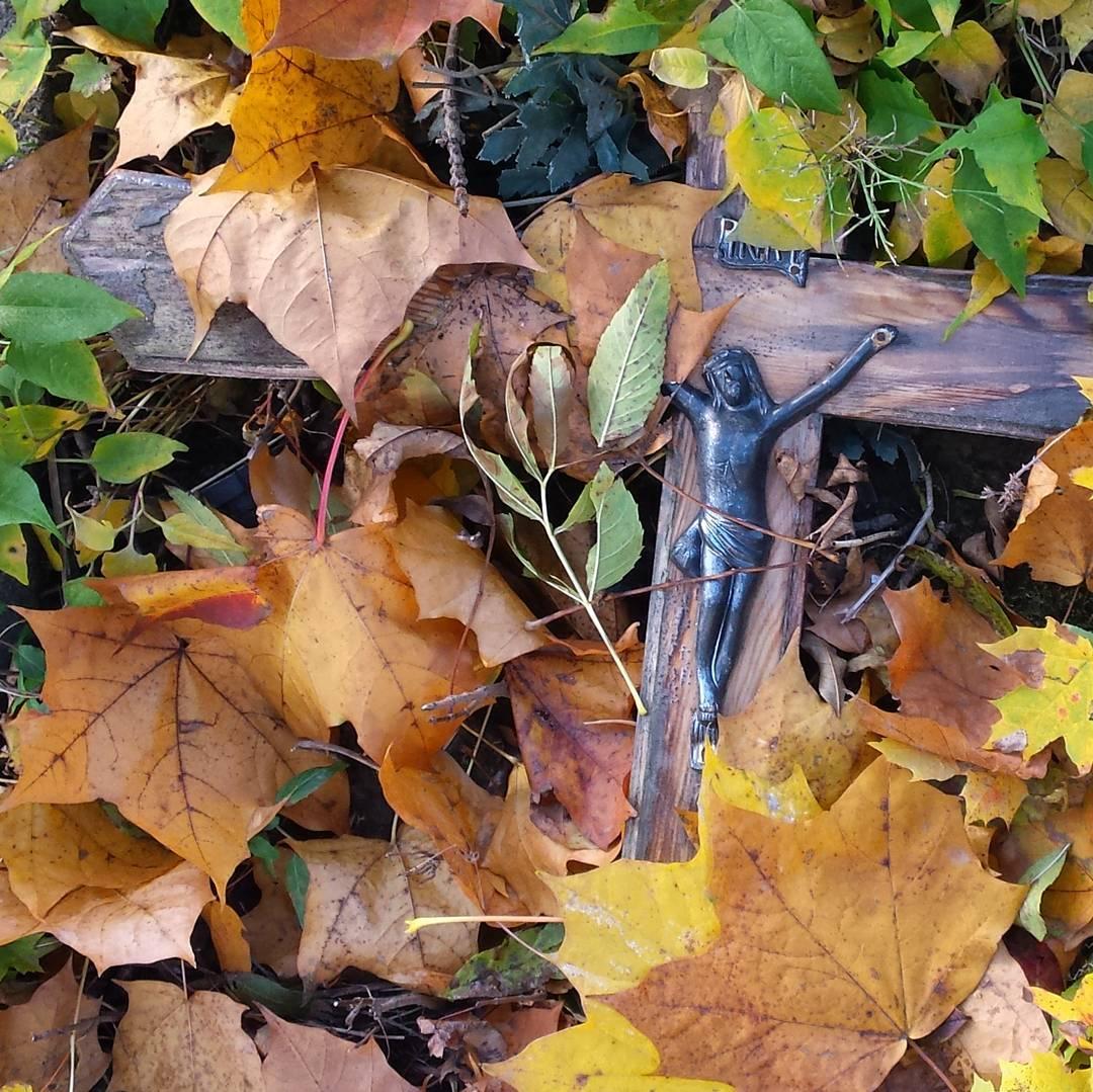 #liście #jezus #jesień #zaduszki #automn