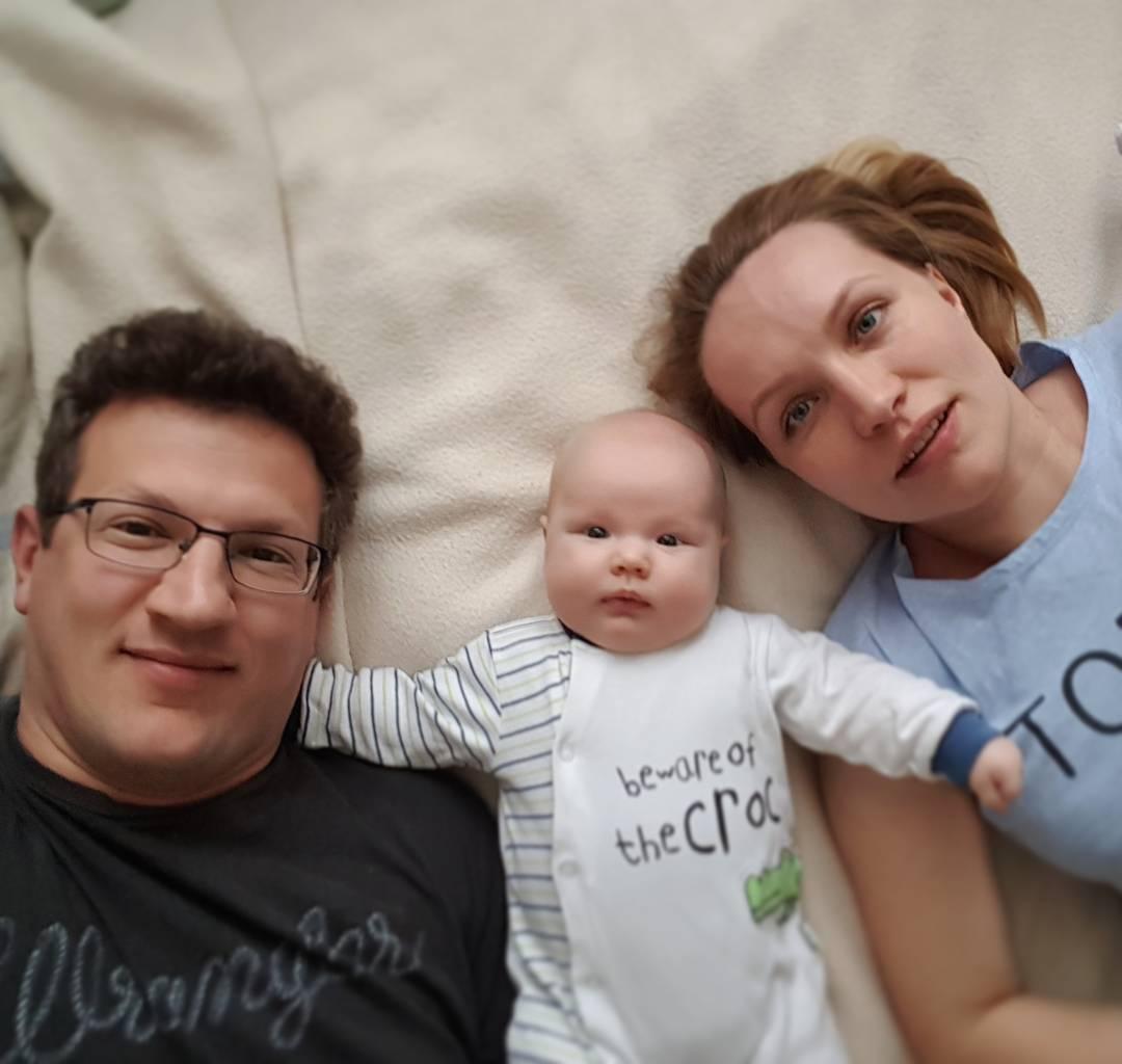 ludzie, dziecko, rodzina