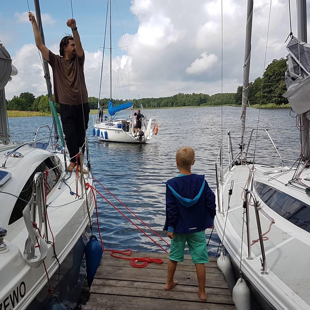 mazury, port, jachty, wakacje
