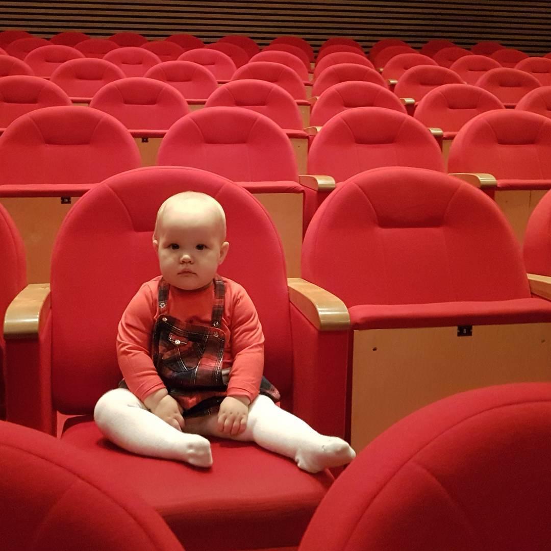 Roma, teatr, widownia, czerwień
