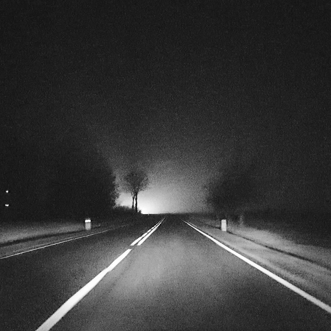 droga, światła, tarłów