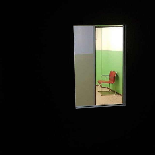 drzwi, okno, krzesło, szpital
