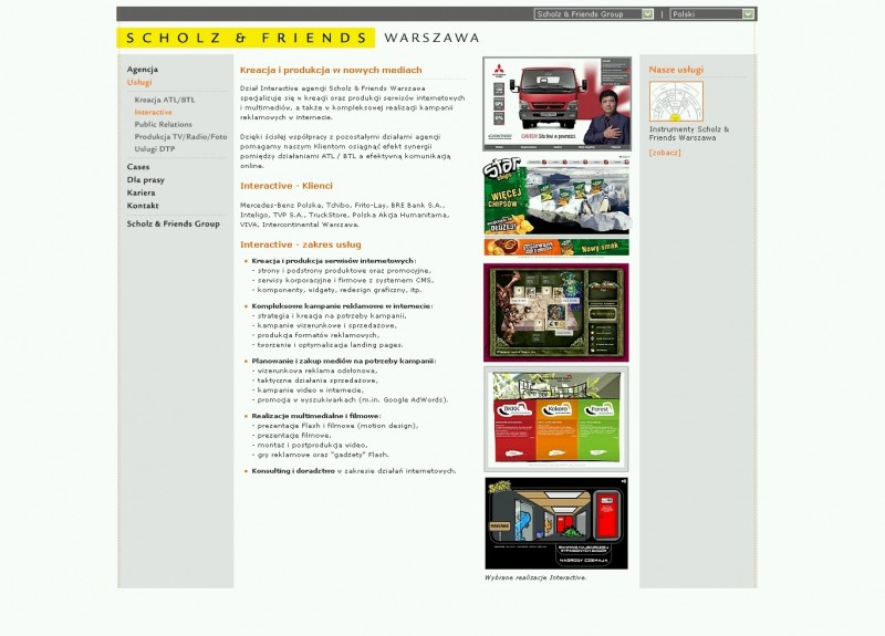 scholz & friends warszawa - interactive