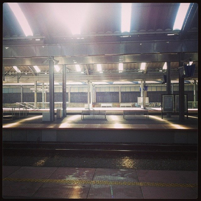 katowice, dworzec pkp, perony