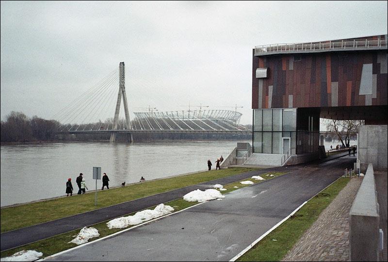 most świętokrzyski / syreny, stadion narodowy, powiśle, centrum kopernika