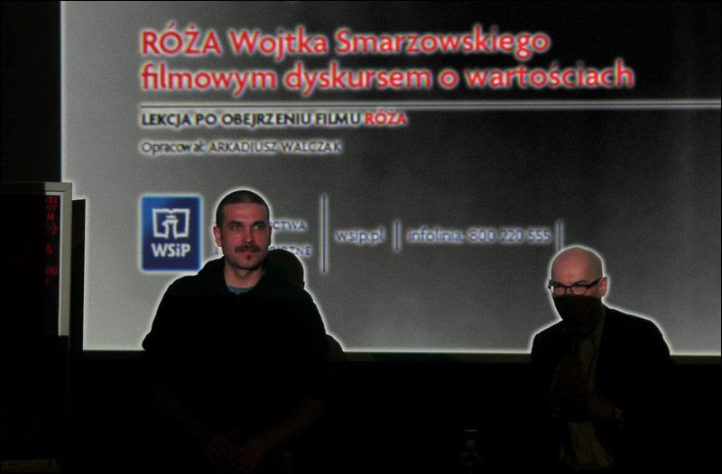 marcin dorociński w kinie atlantic w warszawie / róża smarzowskiego filmowym dyskursem o wartościach