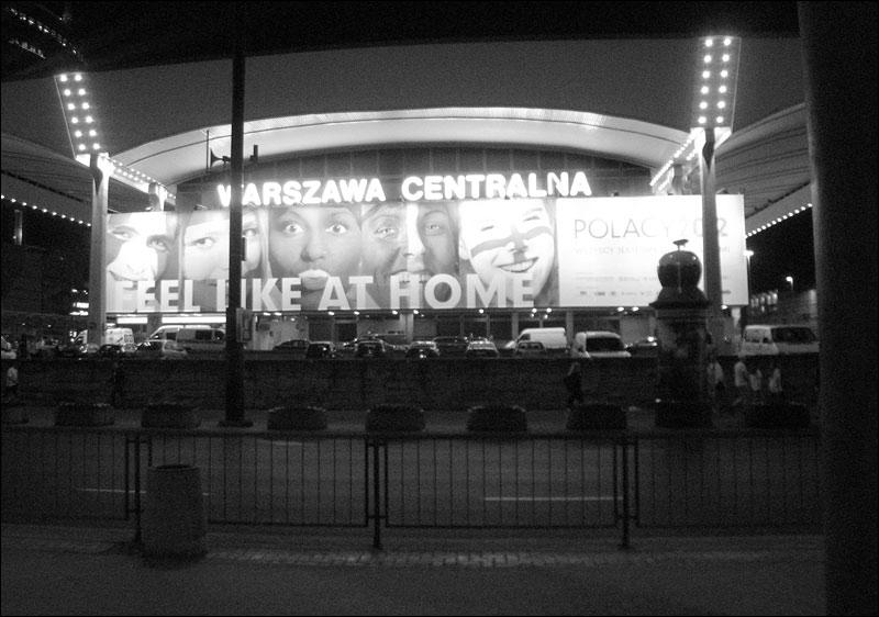 warszawa, euro 2012, feel like at home