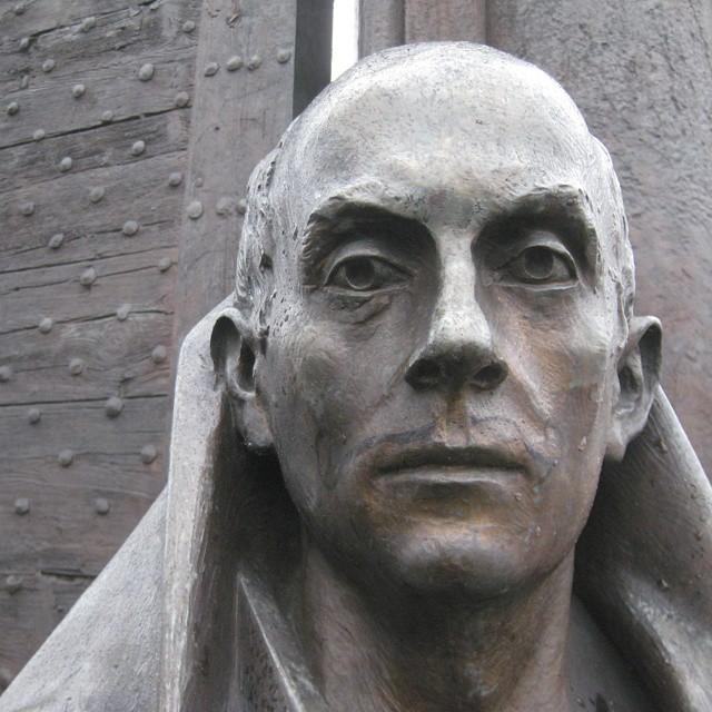 twardogłowy, rzeźba, głowa człowieka