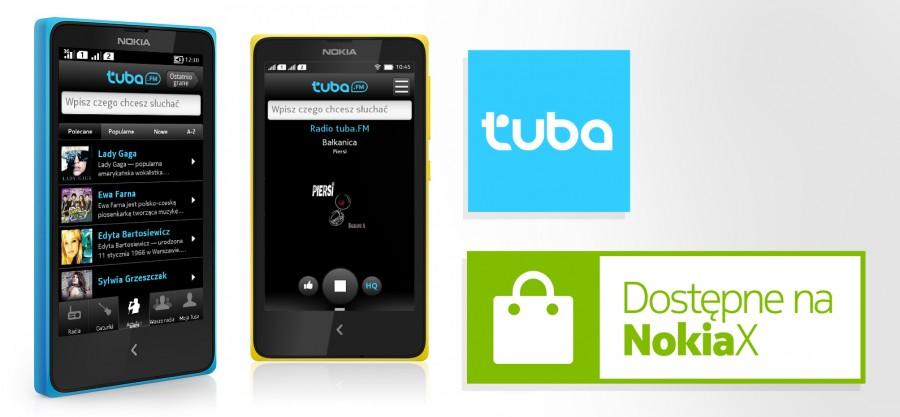 Tuba.FM  dostępna na Nokia X