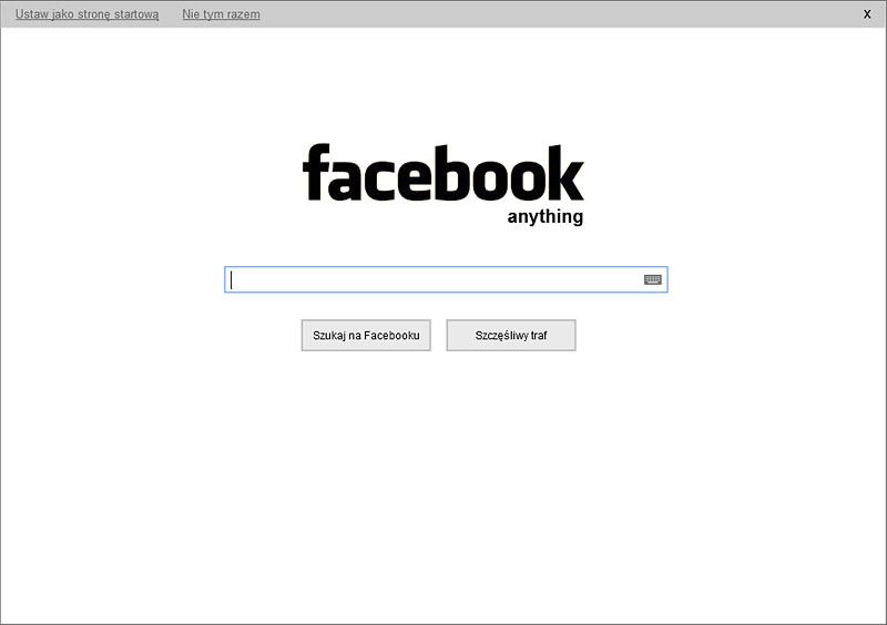 facebook anything