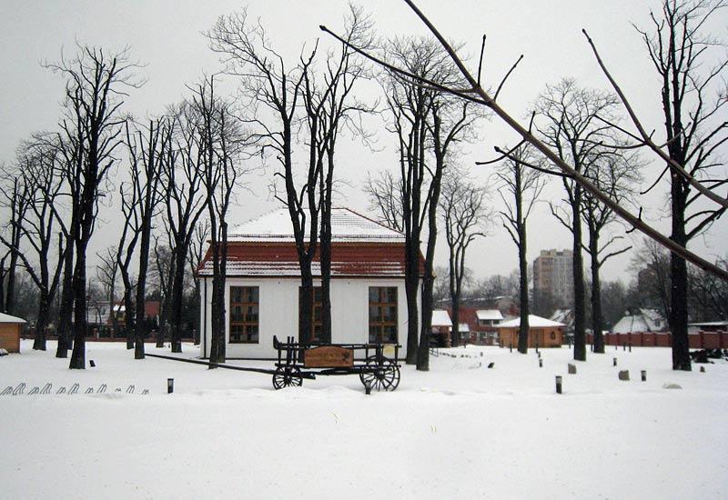 katowice, giszowiec, zima
