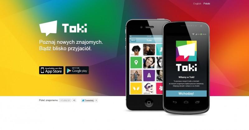 Toki - komunikator mobilny od GG Network