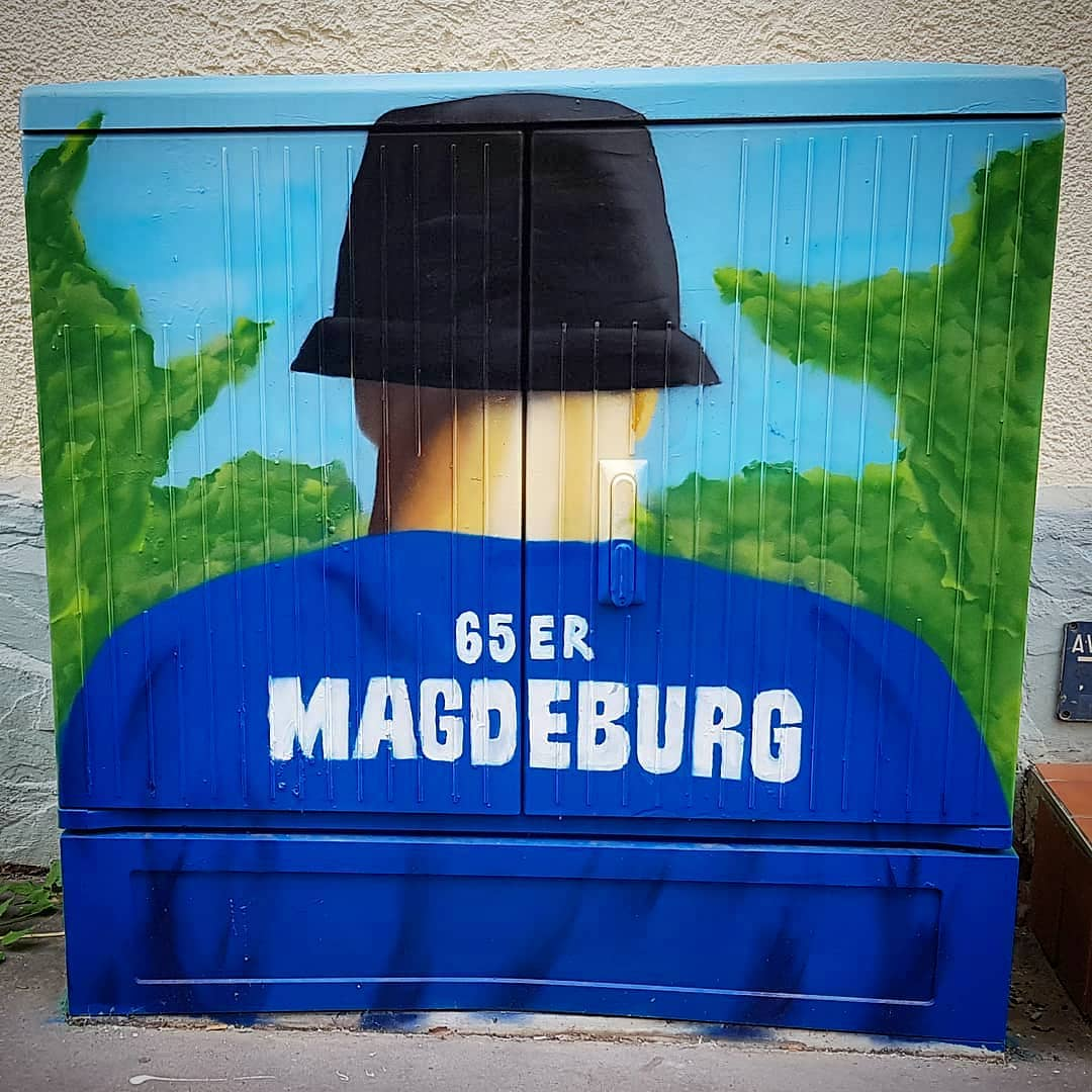 germany, magdeburg, graffiti