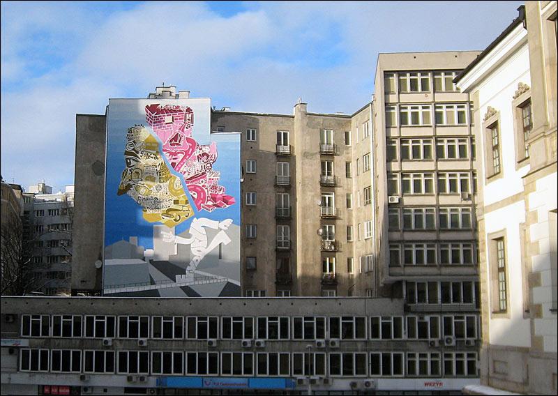 warszawa, tamka, muzeum szopena, graffiti