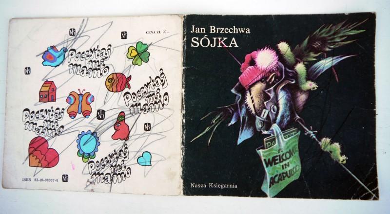 sójka - welcome in acapulco; tekst: jan brzechwa, ilustrował: marek goebel, nasza księgarnia warszawa 1986