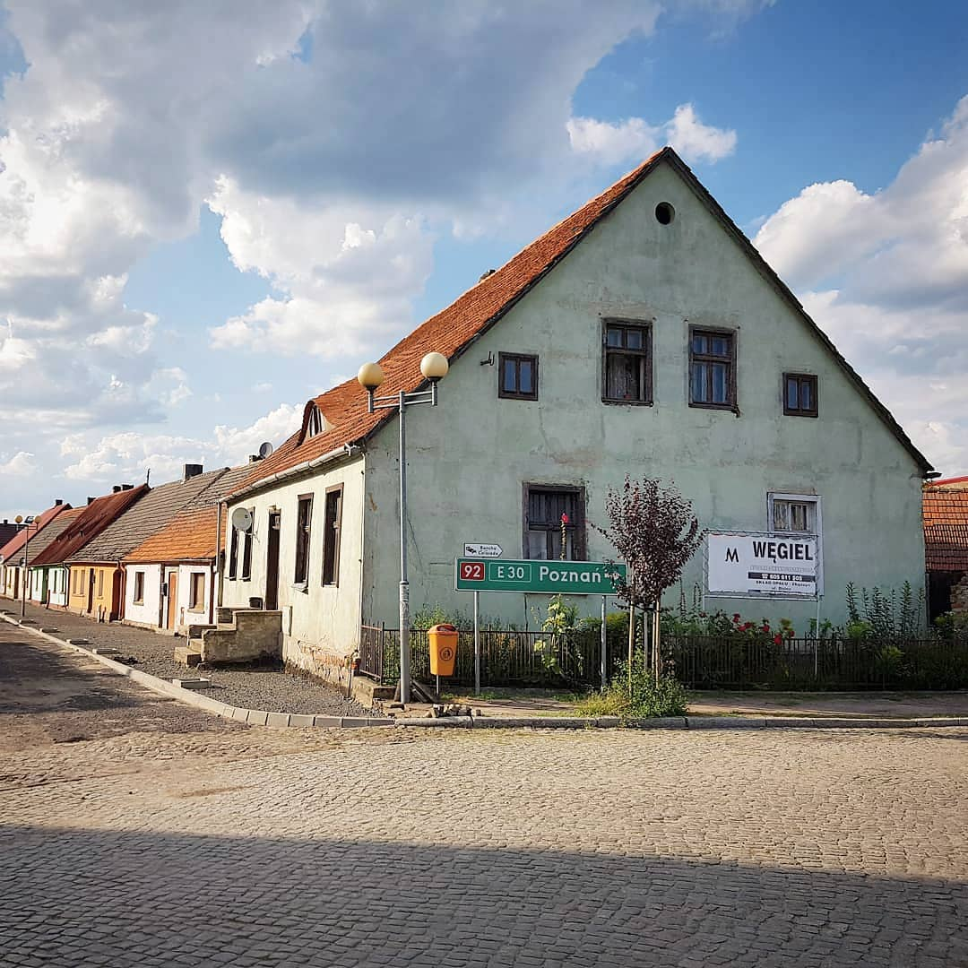 polska, lubuskie, trzciel, domy