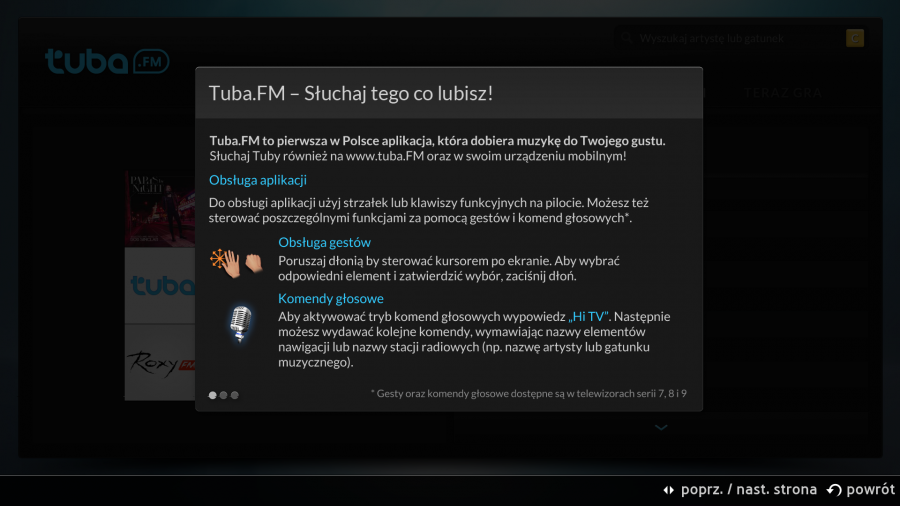 Tuba.FM w Samsung Smart TV