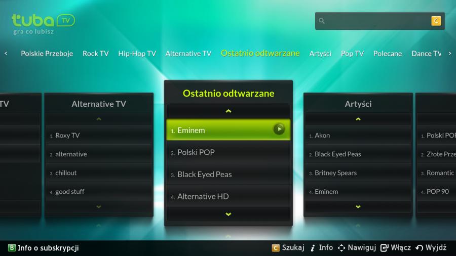 aplikacja tuba.tv na samsung smart tv
